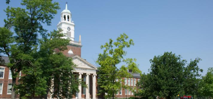 Rockwell Hall in Summer